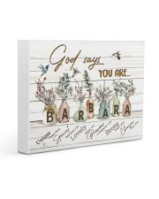 God says you are - Barbara Gallery Wrapped Canvas Prints tile