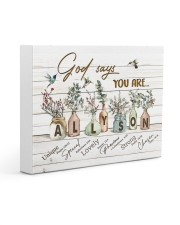God says you are - Allyson Gallery Wrapped Canvas Prints tile
