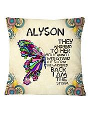 Alyson Square Pillowcase front
