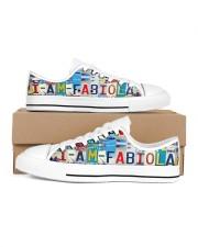 Fabiola Women's Low Top White Shoes inside-left-outside-left