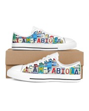 Fabiola Women's Low Top White Shoes inside-right-outside-right