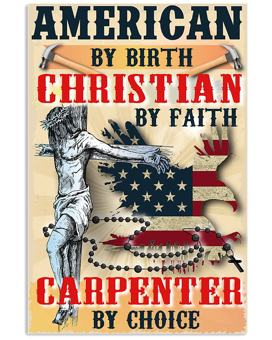 Carpenter's Lifestyle Wall Poster - Faith 11x17 Poster