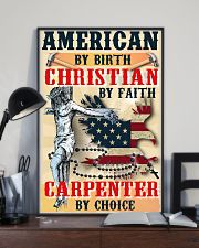 Carpenter's Lifestyle Wall Poster - Faith 11x17 Poster lifestyle-poster-2