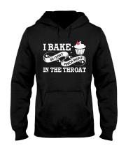 I BAKE SO I DON'T PUNCH PEOPLE  Hooded Sweatshirt thumbnail
