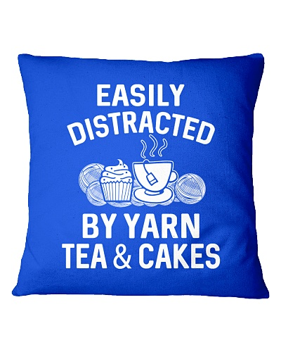 EASILY DISTRACTED BY YARN TEA AND CAKES