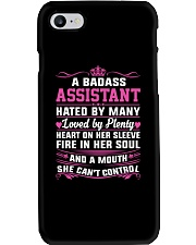 ASSISTANT HATED BY MANY LOVED BY PLENTY Phone Case thumbnail