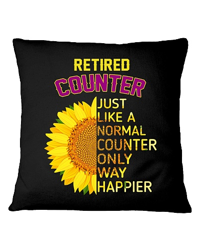 RETIRED COUNTER ONLY WAY HAPPIER SUNFLOWER