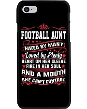 AWESOME FOOTBALL AUNT Phone Case thumbnail