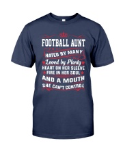 AWESOME FOOTBALL AUNT Premium Fit Mens Tee thumbnail