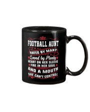 AWESOME FOOTBALL AUNT Mug thumbnail
