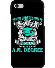 AM DEGREE BEST GRADUATION Phone Case thumbnail