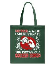 SOCCER COACH UGLY CHRISTMAS SWEATER SOCCER XMAS  Tote Bag thumbnail