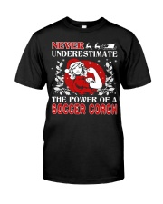 SOCCER COACH UGLY CHRISTMAS SWEATER SOCCER XMAS  Classic T-Shirt thumbnail