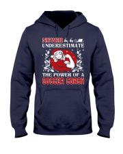 SOCCER COACH UGLY CHRISTMAS SWEATER SOCCER XMAS  Hooded Sweatshirt thumbnail