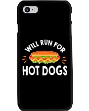 WILL RUN FOR HOT DOGS FUNNY Phone Case thumbnail