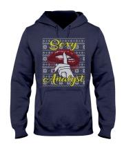 SEXY ANALYST UGLY CHRISTMAS SWEATER XMAS GIFT Hooded Sweatshirt thumbnail
