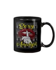 SEXY ANALYST UGLY CHRISTMAS SWEATER XMAS GIFT Mug thumbnail