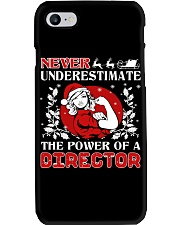 DIRECTOR UGLY CHRISTMAS SWEATER DIRECTOR XMAS GIFT Phone Case thumbnail