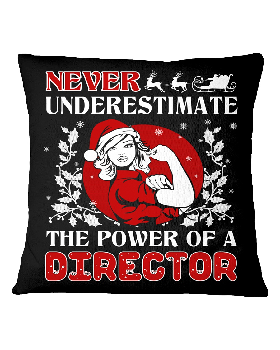 DIRECTOR UGLY CHRISTMAS SWEATER DIRECTOR XMAS GIFT Square Pillowcase