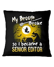Senior Director 2018 Halloween Costumes Square Pillowcase thumbnail