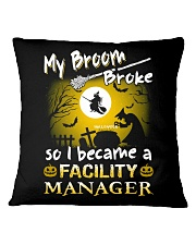 Facility Manager 2018 Halloween Costumes Square Pillowcase thumbnail