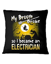 Electrician 2018 Halloween Costumes Square Pillowcase thumbnail