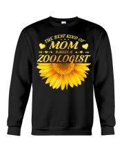 MOTHERS DAY GIFT ZOOLOGIST SUNFLOWER FUNNY WOMEN Crewneck Sweatshirt thumbnail