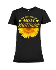 MOTHERS DAY GIFT ZOOLOGIST SUNFLOWER FUNNY WOMEN Premium Fit Ladies Tee thumbnail