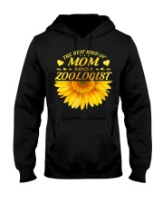 MOTHERS DAY GIFT ZOOLOGIST SUNFLOWER FUNNY WOMEN Hooded Sweatshirt thumbnail