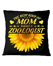 MOTHERS DAY GIFT ZOOLOGIST SUNFLOWER FUNNY WOMEN Square Pillowcase thumbnail