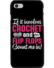 I LOVE CROCHET AND FLIP FLOPS Phone Case thumbnail
