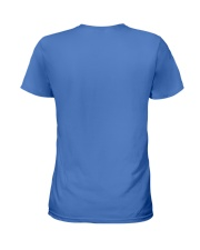 I LOVE CROCHET AND FLIP FLOPS Ladies T-Shirt back