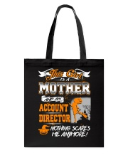 Account Director Mother 2018 Halloween Costume Tote Bag thumbnail