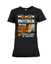 Account Director Mother 2018 Halloween Costume Premium Fit Ladies Tee thumbnail