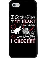 I LOVE CROCHET AND CAT FUNNY CROCHET Phone Case thumbnail