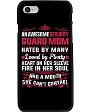 AWESOME SECURITY GUARD MOM Phone Case thumbnail