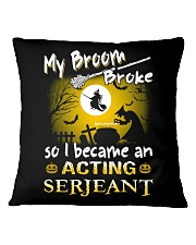 Acting Serjeant 2018 Halloween Costumes Square Pillowcase tile