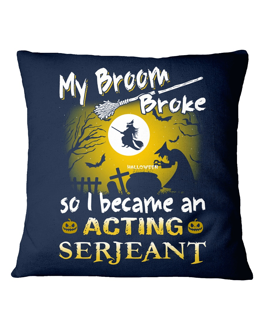 Acting Serjeant 2018 Halloween Costumes Square Pillowcase