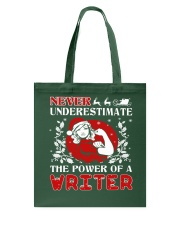 WRITER UGLY CHRISTMAS SWEATER WRITER XMAS GIFT Tote Bag thumbnail