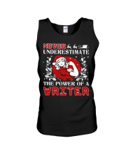 WRITER UGLY CHRISTMAS SWEATER WRITER XMAS GIFT Unisex Tank thumbnail