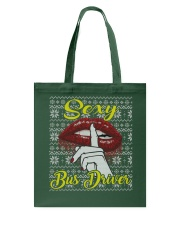 SEXY BUS DRIVER UGLY CHRISTMAS SWEATER Tote Bag thumbnail