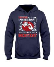 DENTIST UGLY CHRISTMAS SWEATER DENTIST XMAS GIFT Hooded Sweatshirt thumbnail