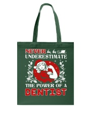 DENTIST UGLY CHRISTMAS SWEATER DENTIST XMAS GIFT Tote Bag thumbnail