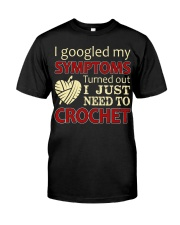 I Googled My Symptoms Crochet Funny Crochet Classic T-Shirt thumbnail