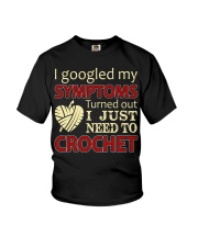 I Googled My Symptoms Crochet Funny Crochet Youth T-Shirt thumbnail