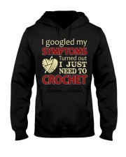 I Googled My Symptoms Crochet Funny Crochet Hooded Sweatshirt thumbnail