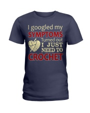 I Googled My Symptoms Crochet Funny Crochet Ladies T-Shirt thumbnail