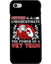 VET TECH UGLY CHRISTMAS SWEATER VET TECH XMAS GIFT Phone Case thumbnail
