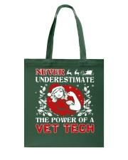 VET TECH UGLY CHRISTMAS SWEATER VET TECH XMAS GIFT Tote Bag thumbnail