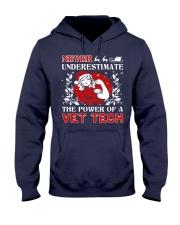 VET TECH UGLY CHRISTMAS SWEATER VET TECH XMAS GIFT Hooded Sweatshirt thumbnail